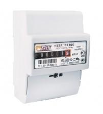 Счетчик электроэнергии однофазный однотарифный НЕВА 103/5 1SO 1,0 5-60А 220В DIN ОУ 6080910 Тайпит