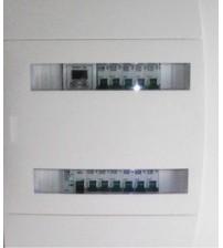 Щит распределения электроэнергии коттеджный однофазная сеть