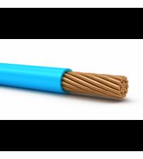 Кабель ПуГВ 1*4 белый (ПВ3) мягкий Синий
